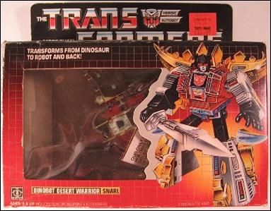 Transformers: More Than Meets the Eye (Generation 1) Snarl (Dinobot Desert Warrior) by Hasbro