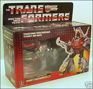 Transformers: More Than Meets the Eye (Generation 1) Slag (Dinobot Flamethrower) by Hasbro