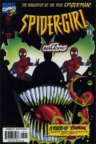 Spider-Girl (1998) 5-A by Marvel