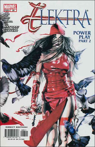 Elektra (2001) 26-A by Marvel