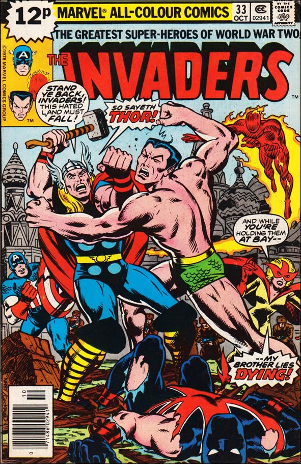 Invaders (1975) 33-B by Marvel