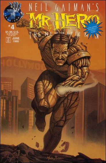 Neil Gaiman's Mr. Hero: The Newmatic Man (1995) 4-A by Tekno•Comix