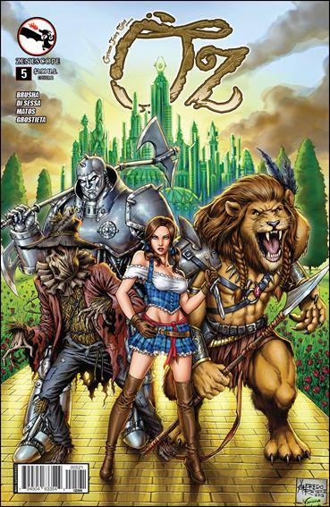 Grimm Fairy Tales Presents Oz 5-B by Zenescope Entertainment