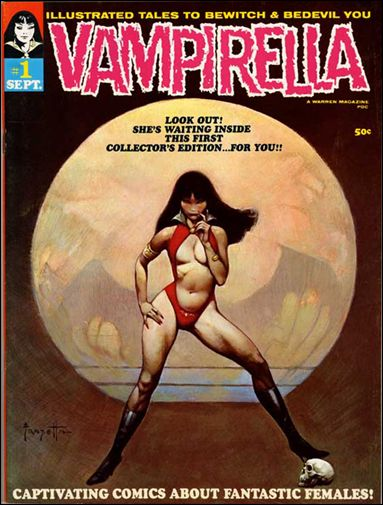 Vampirella 1-A by Warren