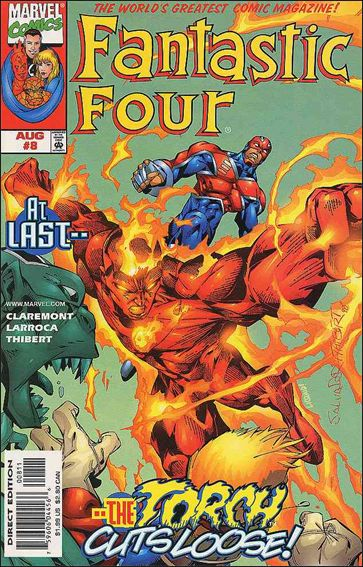 Fantastic Four (1998) 8-A by Marvel