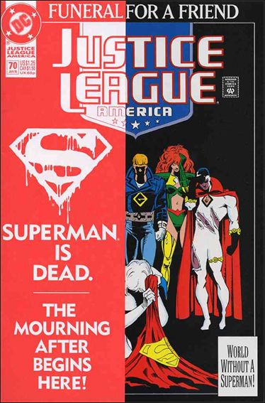 Justice League America 70-A by DC