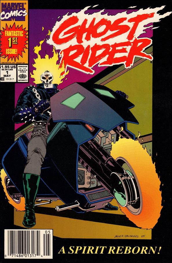 Ghost Rider (1990) 1-A by Marvel