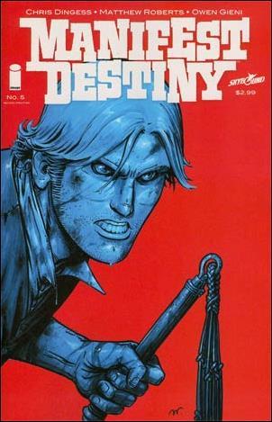 Manifest Destiny 5-B by Skybound Entertainment