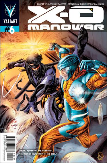 X-O Manowar (2012)  6-A by Valiant Entertainment