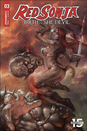 Red Sonja: Birth of the She-Devil 3-A