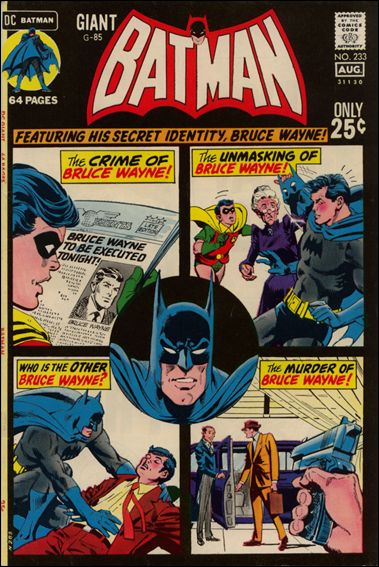 Batman (1940) 233-A by DC