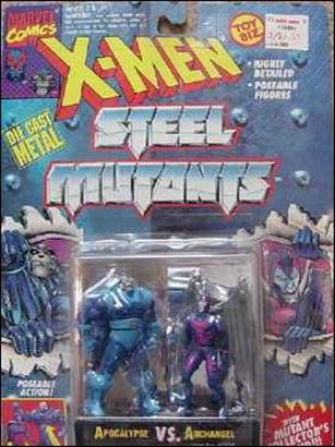 X-Men Steel Mutants (2-Packs) Apocalypse vs Archangel