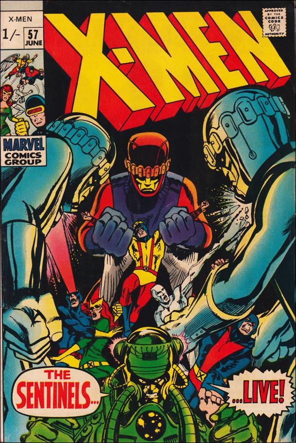 X-Men (1963) 57-B by Marvel