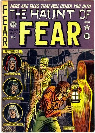 Haunt of Fear (1950) 4-A by E.C.