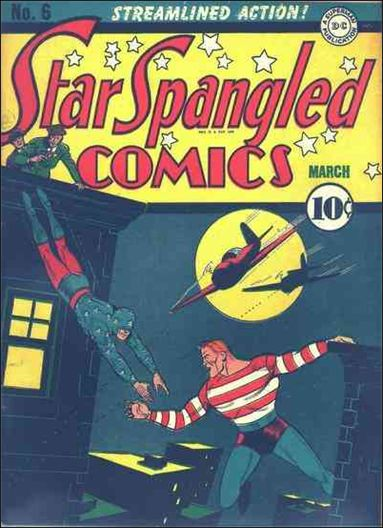 Star Spangled Comics (1941) 6-A by DC