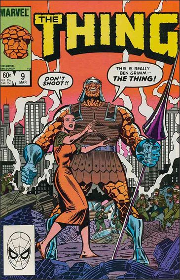 Thing (1983) 9-A by Marvel