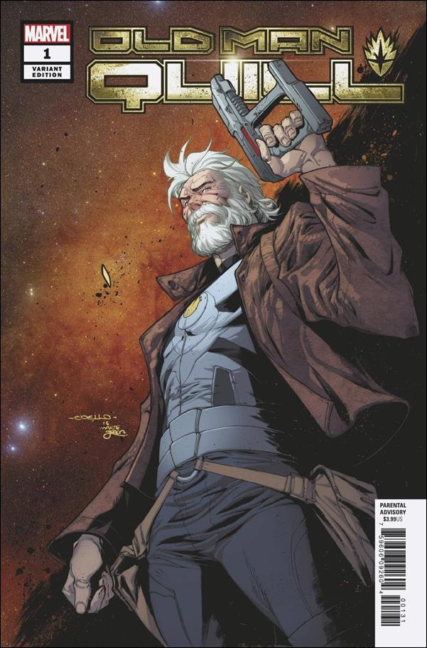 Old Man Quill 1-E by Marvel
