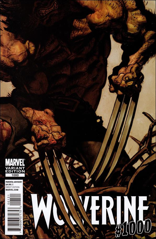 Wolverine (2010) 1000-B by Marvel