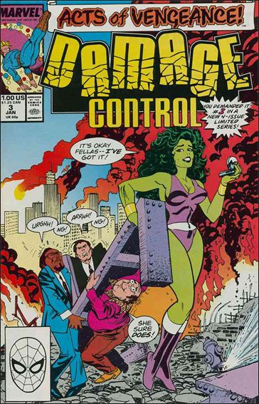 Damage Control (1989/12) 3-A by Marvel