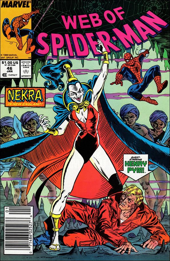 Web of Spider-Man (1985) 46-A by Marvel