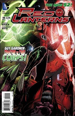 Red Lanterns 21-A by DC
