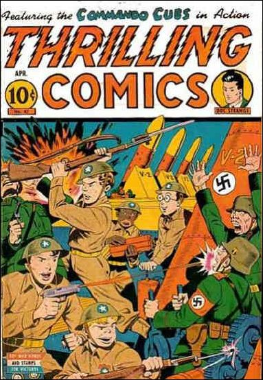 Thrilling Comics (1940) 47-A by Standard