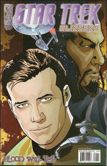 Star Trek: Klingons: Blood Will Tell 1-A by IDW