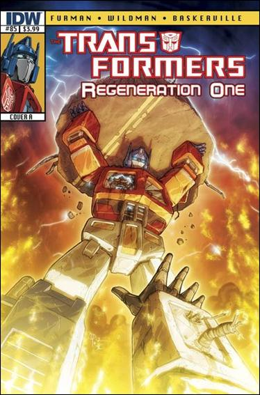 Transformers: Regeneration One 85-A by IDW