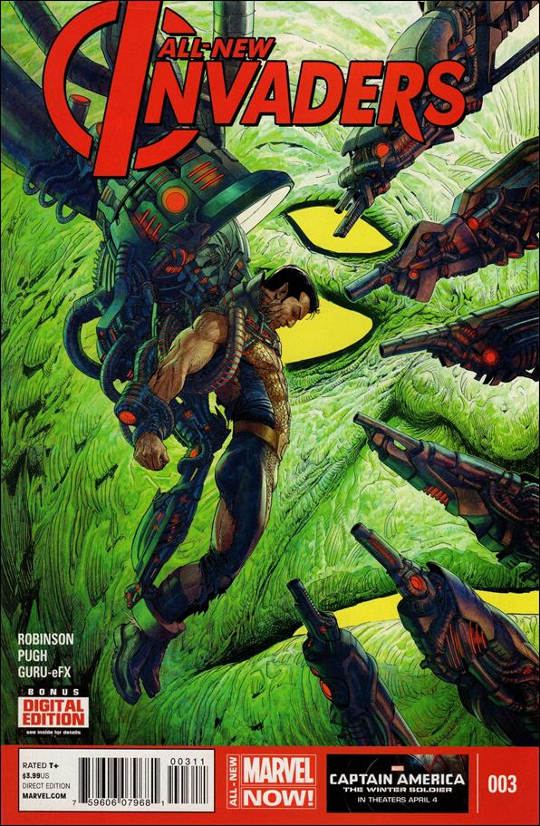 All-New Invaders 3-A by Marvel
