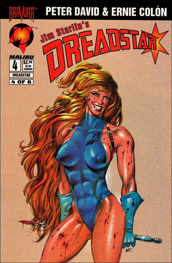Dreadstar (1994) 4-A by Malibu