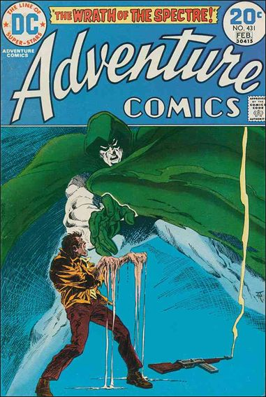 Adventure Comics (1938) 431-A by DC