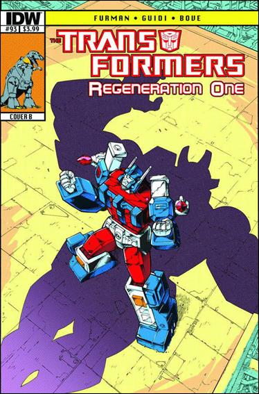 Transformers: Regeneration One 93-B by IDW