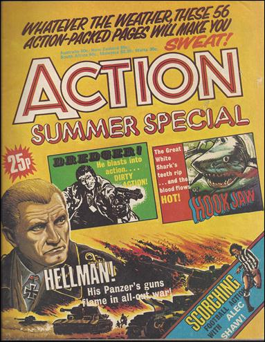 Action Summer Special (UK) nn-A by IPC