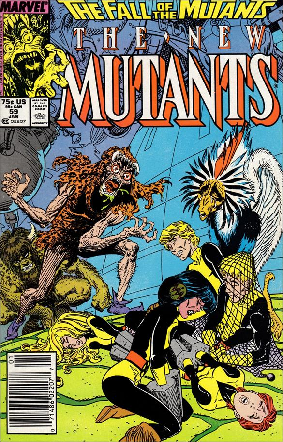 New Mutants (1983) 59-A by Marvel