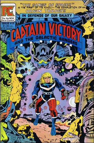 Captain Victory and the Galactic Rangers (1981) 13-A by Pacific Comics