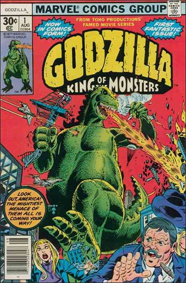 Godzilla (1977) 1-A by Marvel