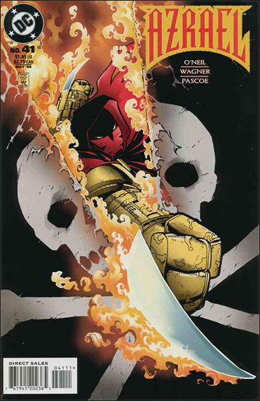 Azrael (1995) 41-A by DC