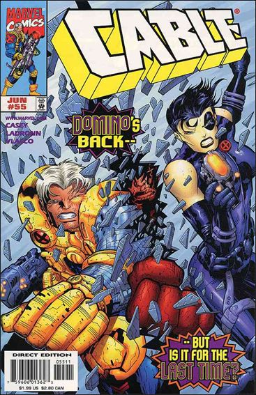 Cable (1993) 55-A by Marvel