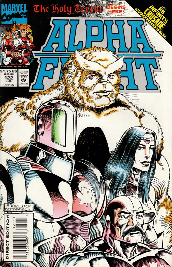 Alpha Flight (1983) 122-A by Marvel