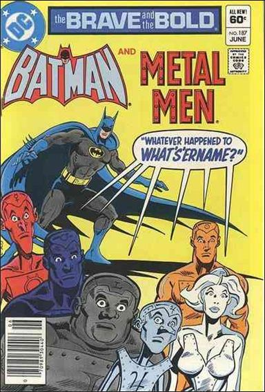 Brave and the Bold (1955) 187-A by DC