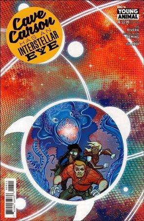 Cave Carson Has an Interstellar Eye 4-A