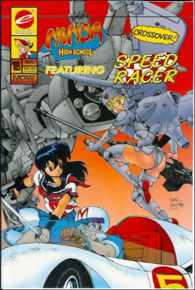 Ninja High School Featuring Speed Racer 1B-A by Eternity