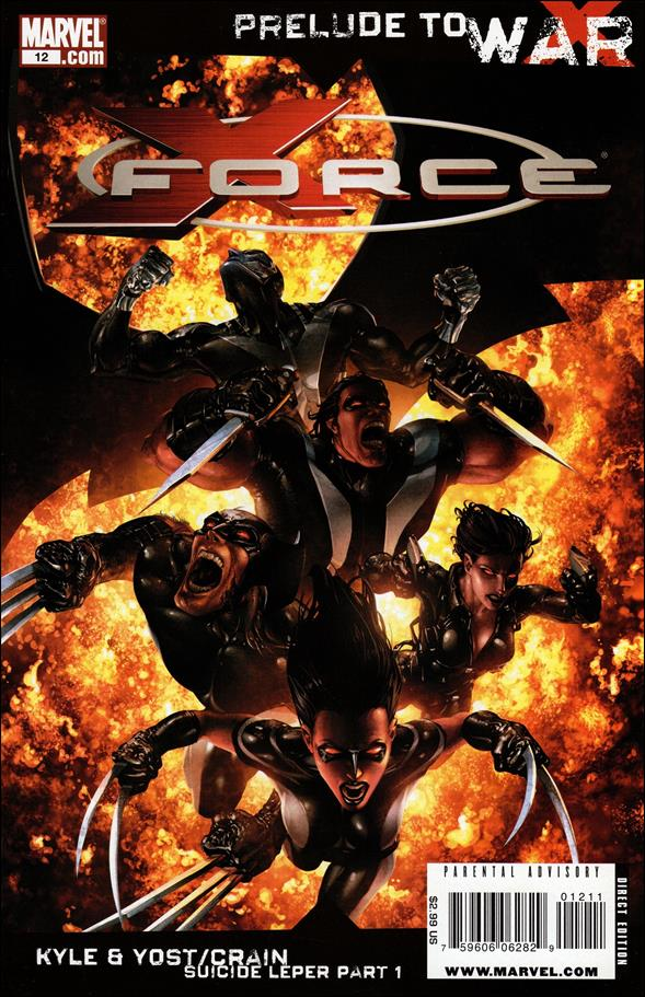 X-Force (2008) 12-A by Marvel