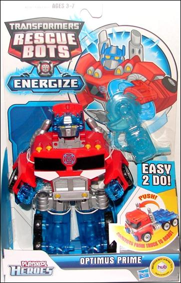Transformers Rescue Bots Energize (Transforming)  Optimus Prime by Playskool