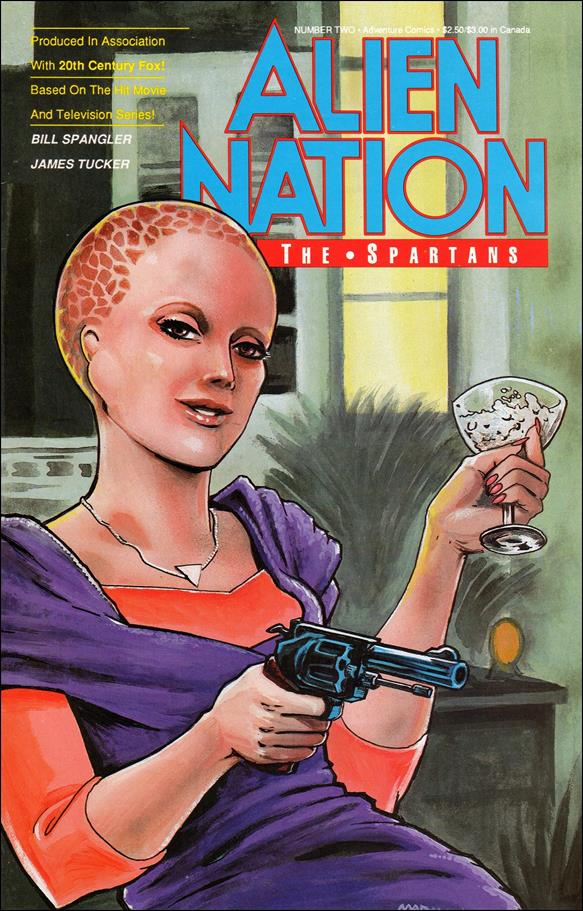 Alien Nation: The Spartans 2-A by Adventure