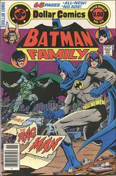 Batman Family 20-A by DC