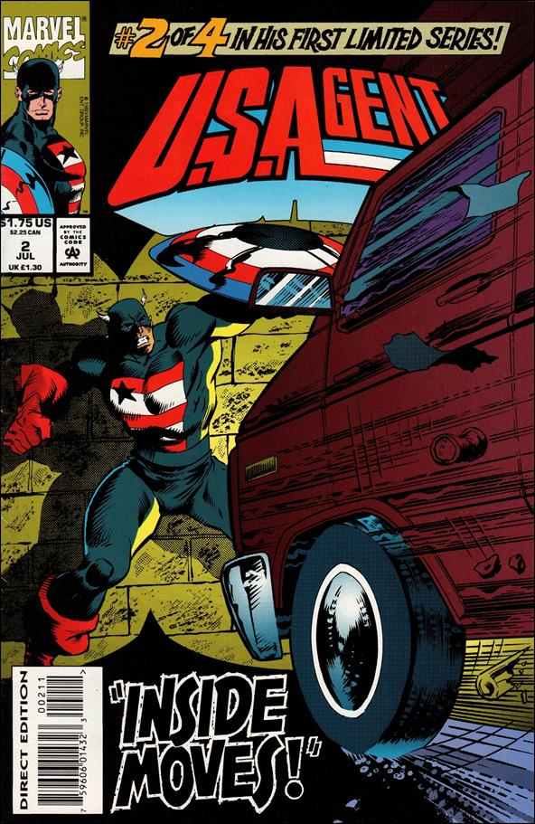 U.S.Agent (1993) 2-A by Marvel