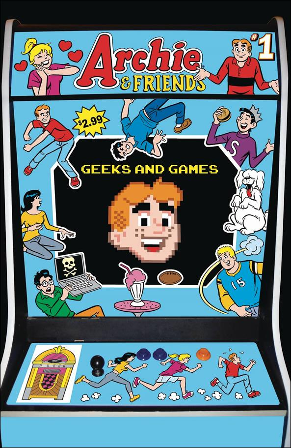 Archie & Friends: Geeks & Games 1-A by Archie
