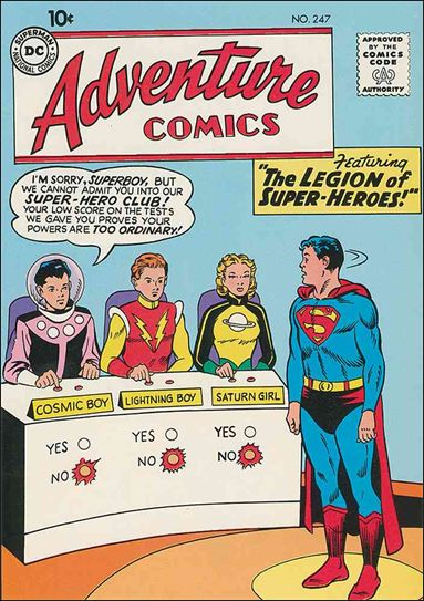 Adventure Comics (1938) 247-A by DC