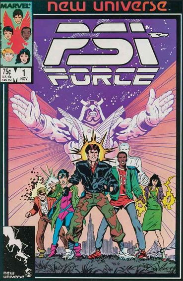 Psi-Force 1-A by Marvel